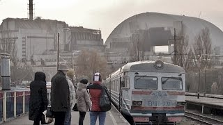 train to Chernobyl NPP (ЧАЭС), from Славутич (Slavutych) to Семиходы feat. Gamardah Fungus