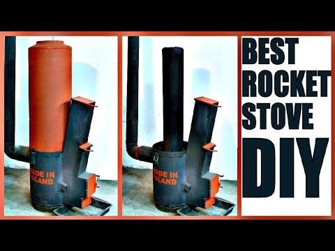 Best ROCKET STOVE DIY