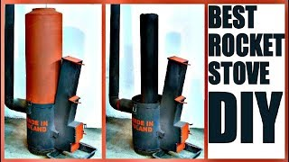 Best ROCKET STOVE DIY [Plans]