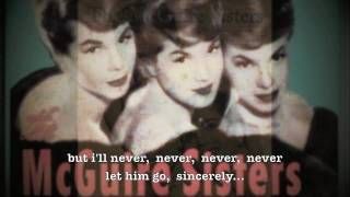 [the mcguire sisters] Sincerely (lyrics)