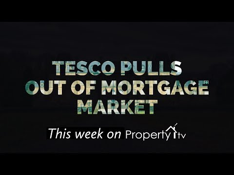Tesco pulling out of mortgage market