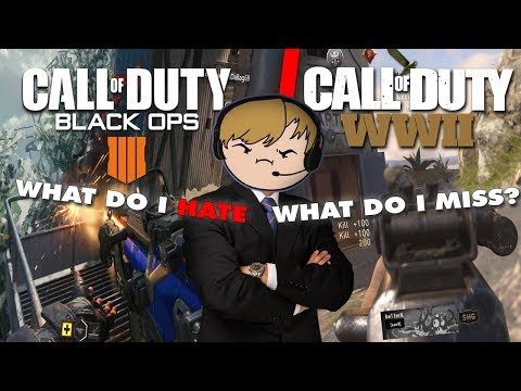 I Tried Comparing COD WW2 To Black Ops 4 - Here's my opinion