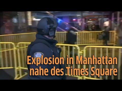 New York: Explosion in Manhattan - mehrere Verletzte nahe des Times Square