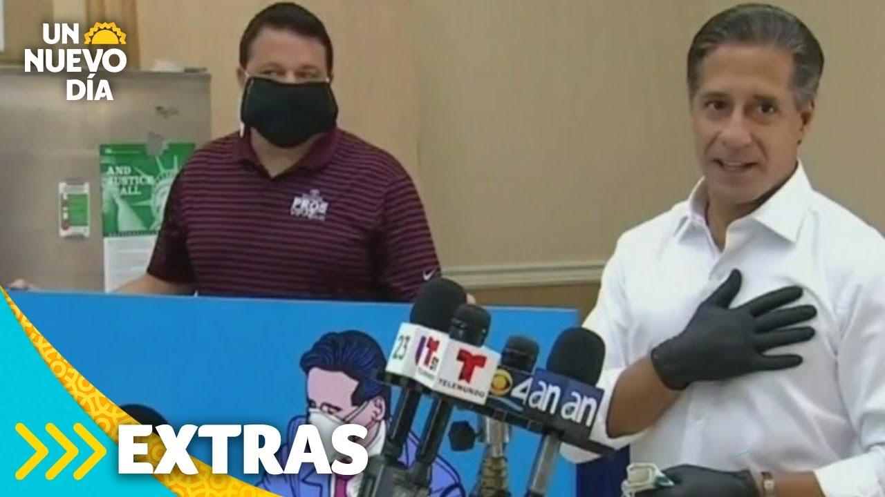 Superintendente de Miami se vuelve todo un héroe | Un Nuevo Día | Telemundo