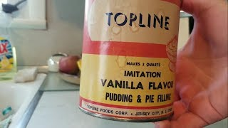 Eating 55 Year Old Pudding (Topline Vanilla)