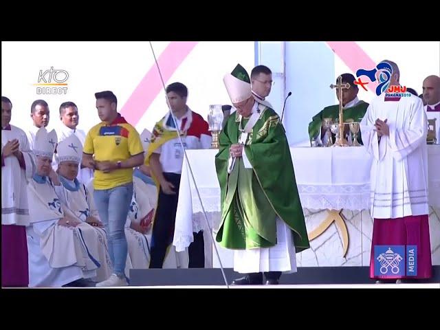 Messe pour les JMJ avec le pape François