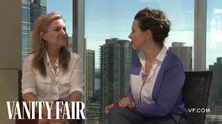 Juliette Binoche Talks to Vanity Fair's Krista Smith About the Movie