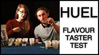 Huel Flavour Boost Taste Test Review (Vegan Meal Replacement Shake)