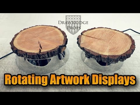 how-to-make-spinning-display-stands---bbq-motor-rotary-tables