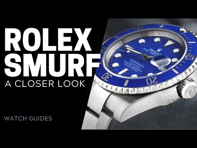 Rolex Submariner Smurf 116619LB: A Closer Look   SwissWatchExpo