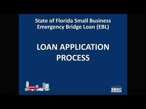 Florida Small Business Emergency Bridge Loan Program Explained
