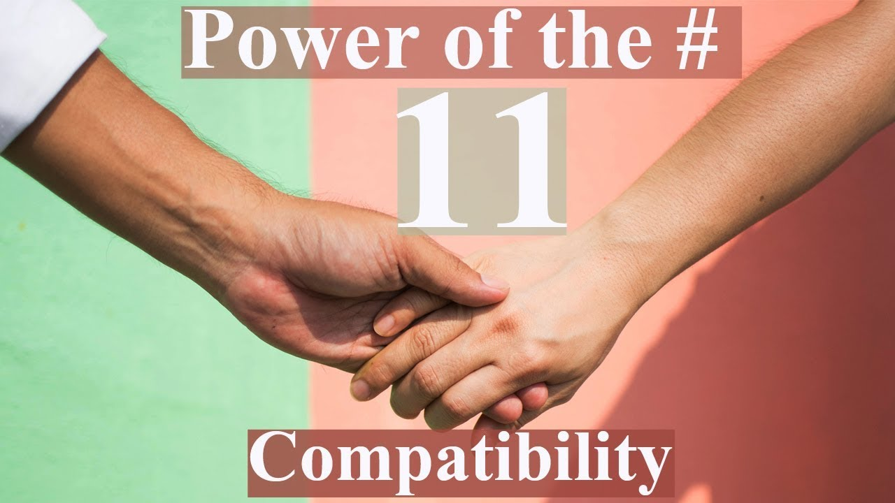 😘🥰Numerology: Master Number 11 Compatibility || #