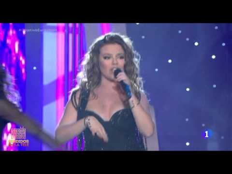 Actuación de Maria Isabel en Objetivo Eurovisión