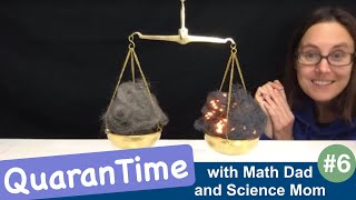 QuaranTIME Day 6 - Chemistry and Fractions!