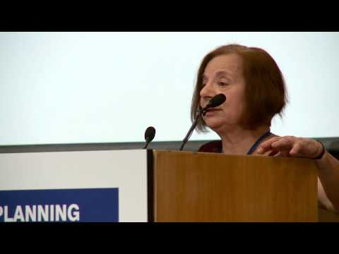 Professor Susan S. Fainstein from Harvard University at the UCD AESOP Conference, 2013.