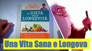 La dieta della Longevità - La dieta Mima Digiuno - Valter Longo  ( Recensione del Libro )