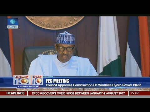 FEC Approves Construction Of Mambilla Hydro Power Plant