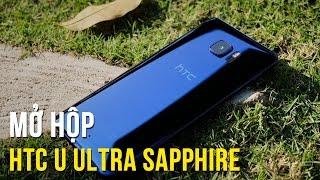 Mở hộp HTC U Ultra phiên bản Sapphire - Điện thoại chống trầy xước tốt nhất hệ mặt trời