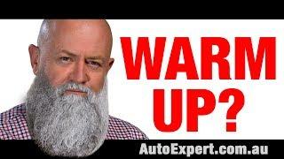 Should I let my car warm up before driving off? | Auto Expert John Cadogan