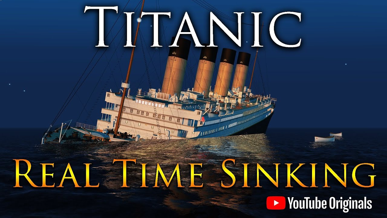 Download Titanic 108 Years | A Real Time Sinking Animation