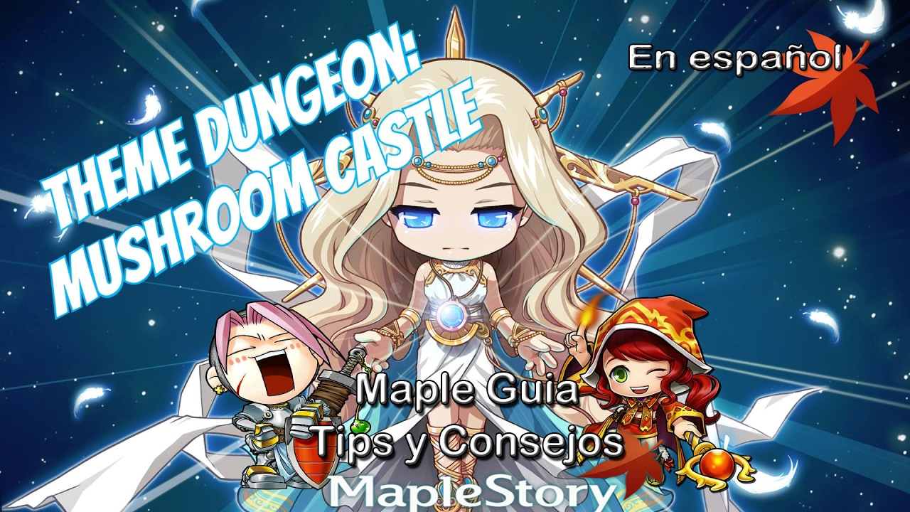 maplestory how to get back to mushroom castle