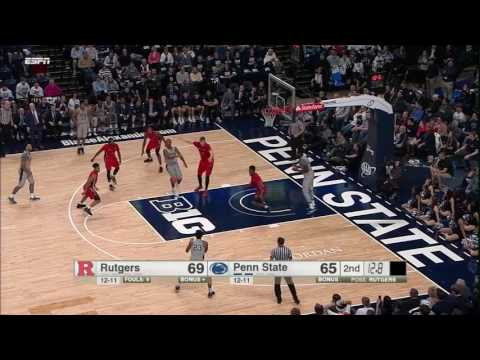 Rutgers at Penn State - Men's Basketball Highlights