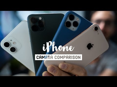 iPhone 11 vs iPhone 7/8/X/XR/XS - Real world camera comparison
