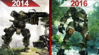 SBS Comparison   Titanfall (2014) vs. Titanfall 2 (2016)   ULTRA   GTX 970