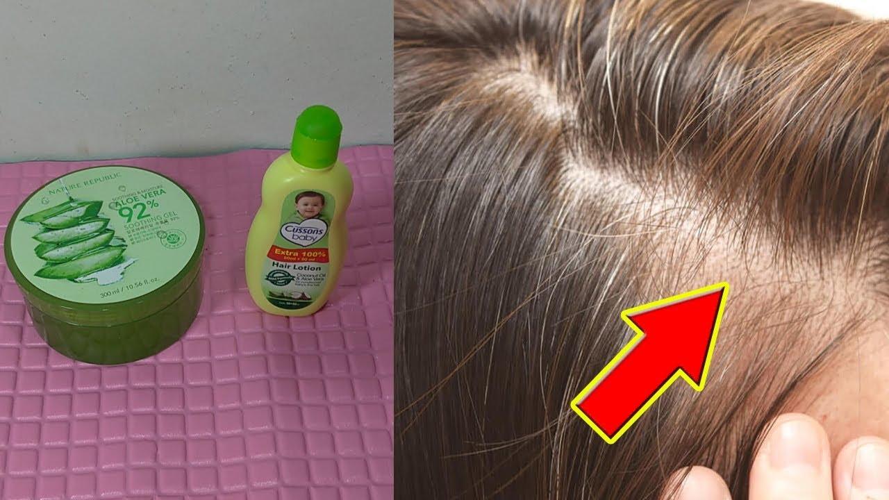 Simpel Cara Menebalkan Rambut Tipis Dengan Bahan Rumahan Youtube