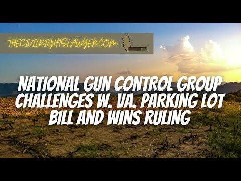 Anti-Gun Lawsuit Against the WV Parking Lot Firearms Law Win