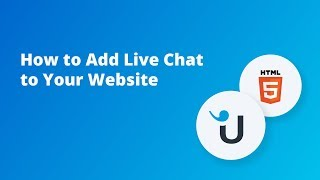 How to Add Live Chat to Your Website: HTML Mp3