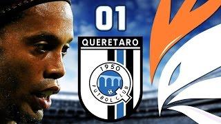FIFA 15 - QUERÉTARO NA VEIA! - MODO CARREIRA - 01