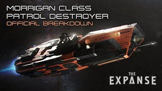 The Expanse: Morrigan Class Patrol Destroyer - Official Breakdown