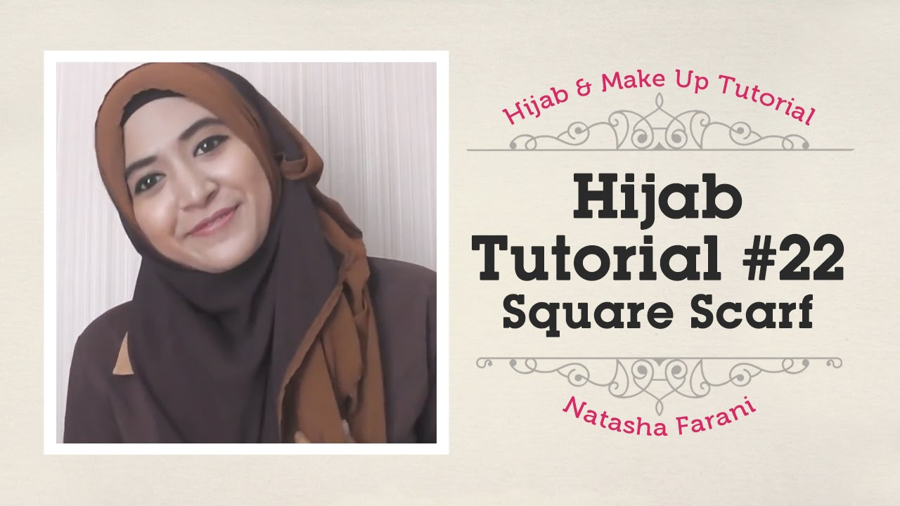 Unique Hijabtutorial Hijab Segi Empat Paris 17 Best Ideas About