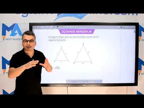 Eğitim10line Geometri - Üçgende Benzerlik Konu Anlatımı (Onur Şimşek)