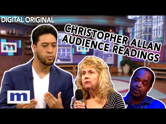 Christopher Allan's Audience Readings