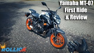 2019 Yamaha MT-07 | Test Ride & Review