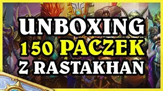 UNBOXING PAKIETÓW Rastakhan's  Rumble!! - Hearthstone Extra