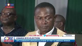 APC WINS KWARA BYE-ELECTION....watch & share...!