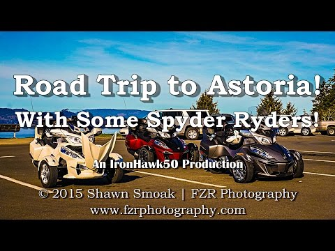 Road Trip to Astoria with Spyder Ryders! - 2015 RT-S Special | RoadTrips fragman