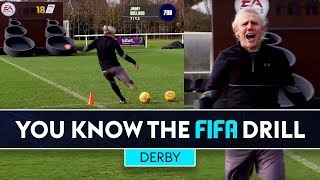 ULTIMATE FIFA CHALLENGE! | Derby County | You Know The FIFA Drill
