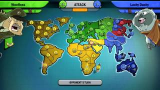 RISK FACTIONS #3 with The Pack (Risk Game 2)