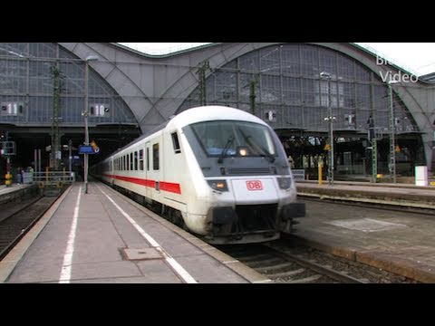 Züge - Trains - Eisenbahn - Hbf Leipzig - YouTube