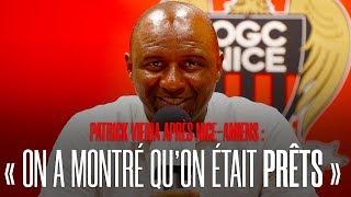 """Vieira après Nice-Amiens : """"On a montré qu'on était prêts"""""""