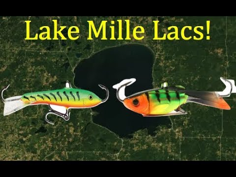 Hot Ice Fishing Lures For Lake Mille Lacs