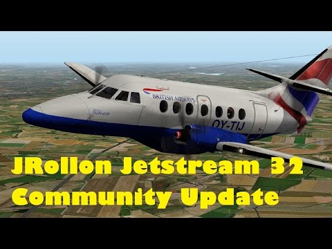 X-Plane 10 JRollon Jetstream 32 community update and my thoughts