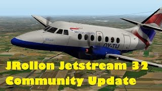 X-Plane 10 JRollon Jetstream 32 community update and my thoughts