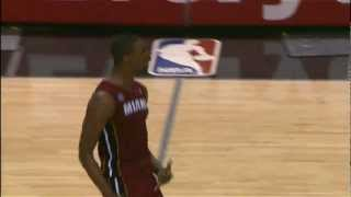 Chris Bosh Sinks the Game-Winner in San Antonio