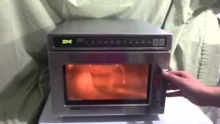 Amana 2100 watt commercial microwave