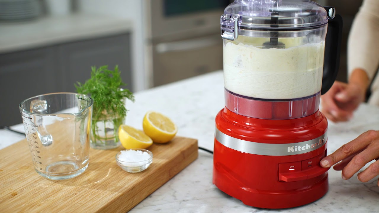 How To Use The KitchenAid® 7 Cup Food Processor Plus